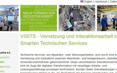 Neue Industriearbeit: VISITS